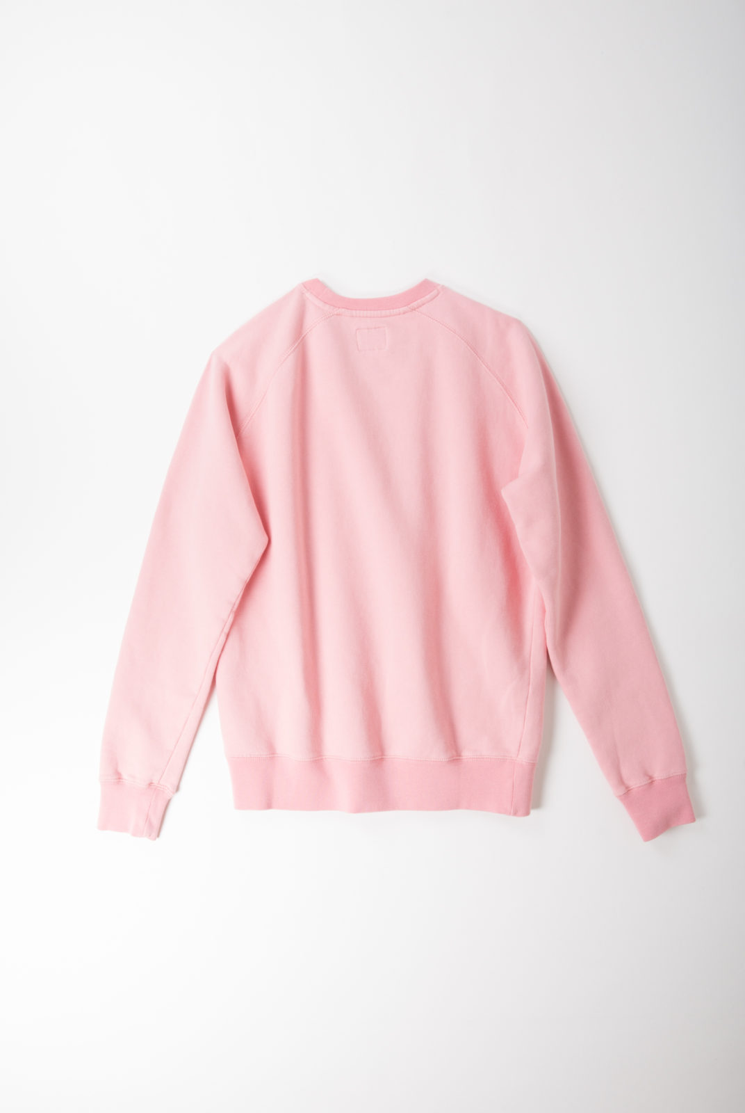 sweat, coton, rose, encolure ronde, manches longues, holiday